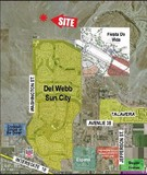 15.44 ac North of Del Webb Sun City