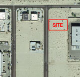 .55 Ac Industrial Building in N. Palm Springs